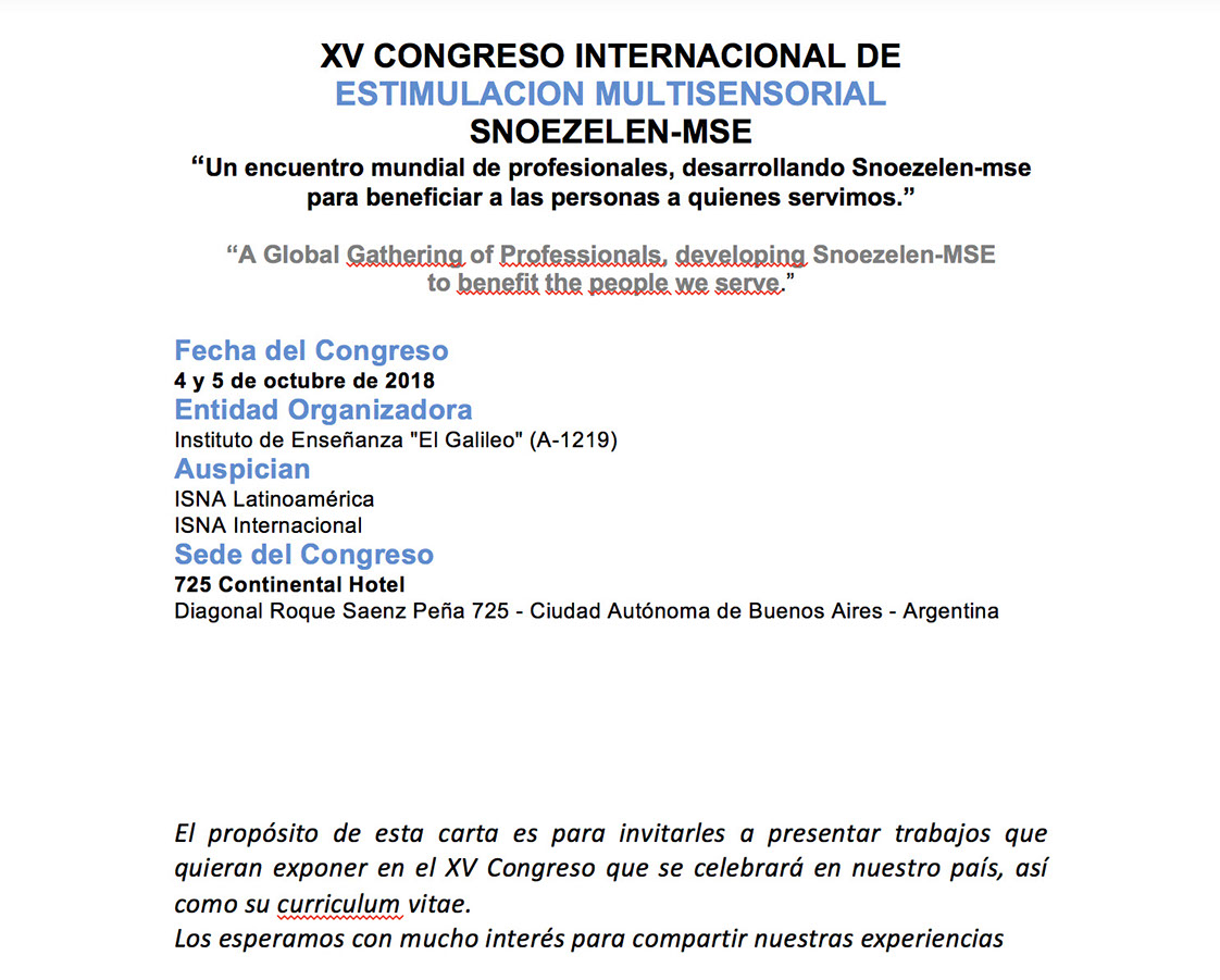 curriculum vitae argentina pdf